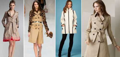 Плащи как модные тенденции сезона