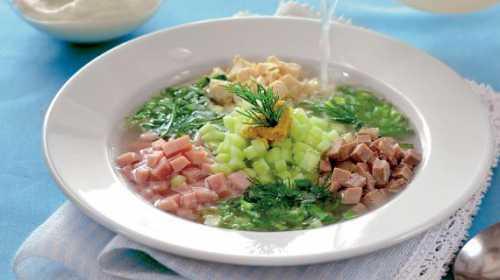 Окрошка: рецепты летнего супа фото