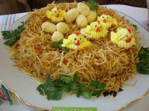 Интересные рецепты салатов 1