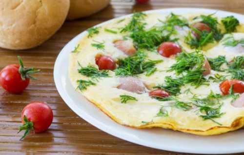 Рецепты французского омлета, секреты выбора