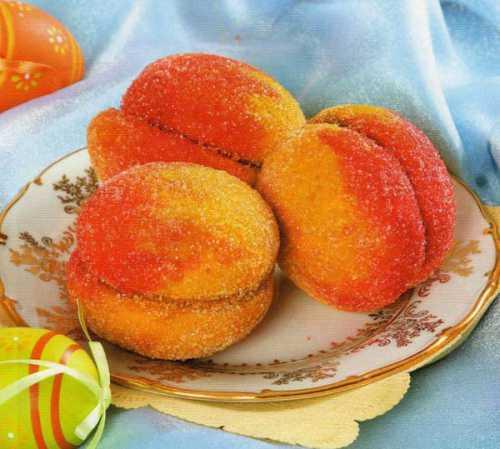 Рецепты пирожного Персики, секреты выбора