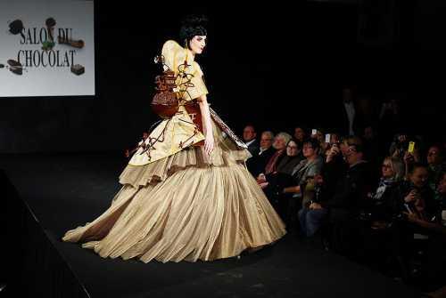 Шоколадный показ мод прошел в Цюрихе