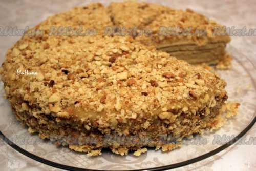 Рецепты торта Рыжик с заварным кремом, секреты