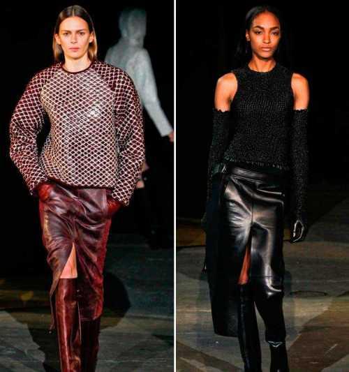 Модные цвета зимой 2012