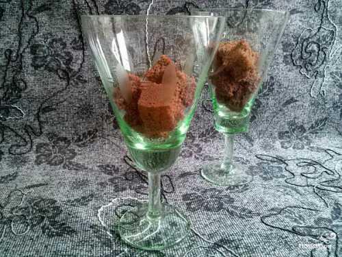 Морковный десерт Солнечные бокалы - рецепт с фото