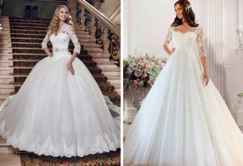 Самые красивые свадебные платья для невесты – длинные, короткие, пышные, А