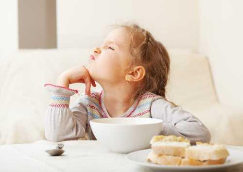 Плохой аппетит у ребенка, ребенок отказывается от еды, не ест прикорм